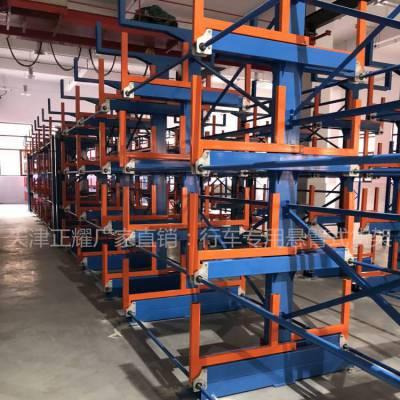 四川重型钢板存储架 抽屉式货架承重 板材存放货架