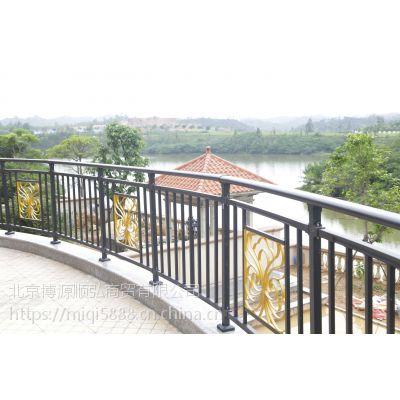 陕西组装式阳台栏杆,烤漆楼梯扶手,仿木纹阳台护栏Q235HC,锌合金围墙围栏
