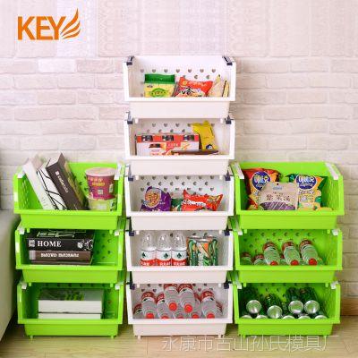多功能加厚蔬菜水果厨房置物架收纳筐置物篮厨房用品用具菜架
