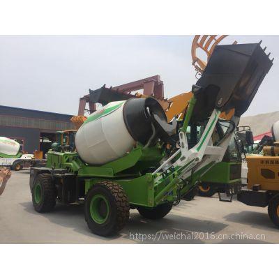 云南3立方全自动搅拌机 山区工程专用混凝土自动搅拌车