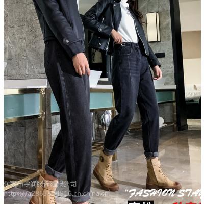 厂家清货15元清货低价清货便宜高腰牛仔裤九分裤弹力牛仔裤清货