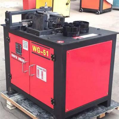 WG-38型压条式弯管机 角度电动折弯机任意角度均可