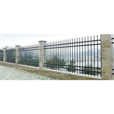 广东省hysw施工安全喷塑锌钢护栏 防攀爬围墙定制 -282