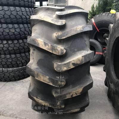 前进工程机械轮胎 28L-26 路拌机冷再生机轮胎 人字加粗花纹