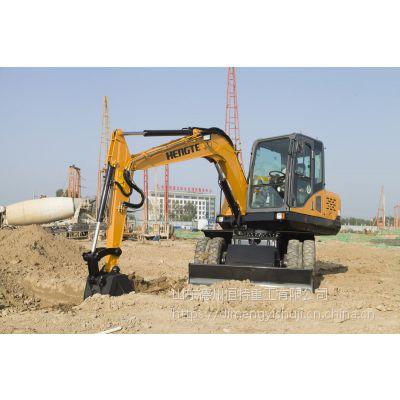 轮式挖掘机—HT75W轮挖恒特