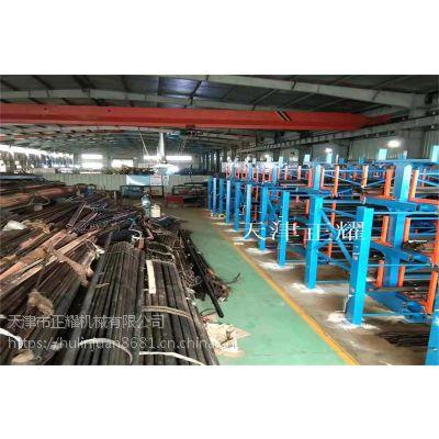 钢材怎样保管和存储 伸缩悬臂式钢材货架
