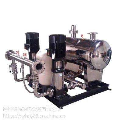 二次增压接自来水管网给水设备 节能高效变频无负压给水设备 特点