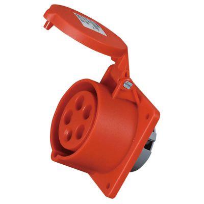 启星科技QX-1385 16A/5P经济型工业插座