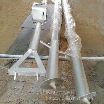 铝合金管三角立杆机生产销售 12米三角起杆器价格 嘉鹏水泥杆抱杆