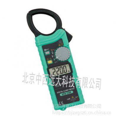 中西 钳形电流表 型号:KL-KEW 2200库号:M316483