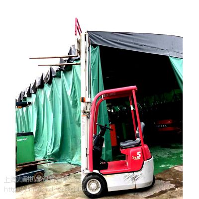 现货原装丰田叉车0.5吨电动叉车 平衡重式叉车 迷你型电动搬运车