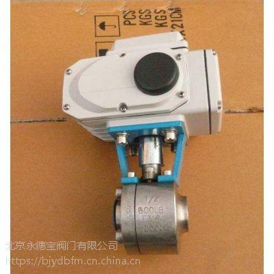 进口50Mpa电动小型球阀|美国威盾VTON电动超高压球阀