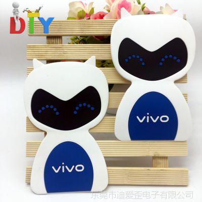 VIVO手机壳贴皮 硅胶手机壳贴片 PVC软胶贴片 卡通贴皮diy
