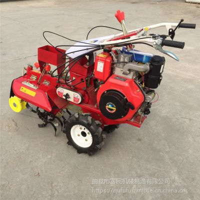 小型果园旋耕机 自走柴油旋耕机价格 富民牌