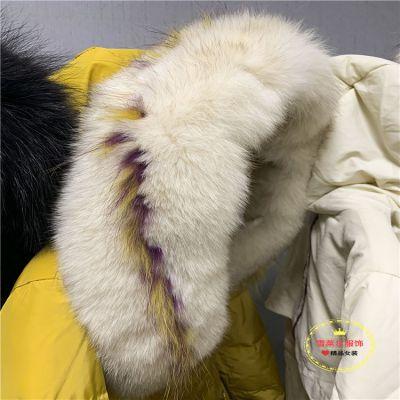 四季青货源雪罗拉大版羽绒服个性女装品牌特价库存尾货批发多种面料新款组货包