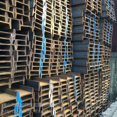 佛山现货供应 q235b热轧工字钢 镀锌工字钢 桥梁厂房建筑工字钢