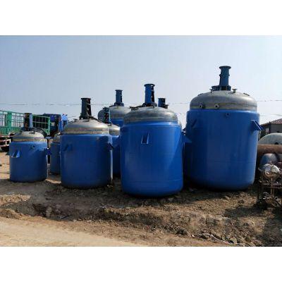 低价处理一批二手0.5-30吨不锈钢反应釜,搪瓷反应釜,高压反应釜、电加热反应釜