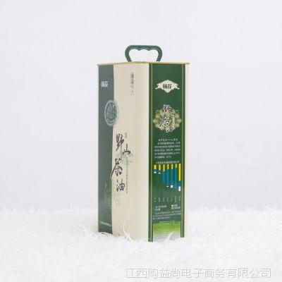 物理压榨赣花山茶油5L礼盒装产妇月子食用油木子油茶树油厂家直销