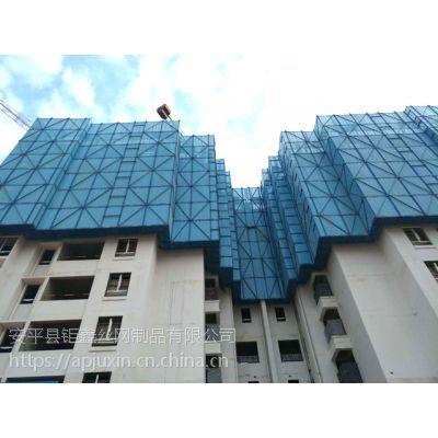 建筑爬架网已经取代建筑施工安全网,科技、环保、美观等优点