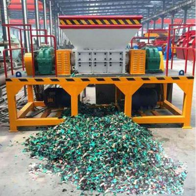 机油桶破碎机大型油漆桶快速撕裂机设备