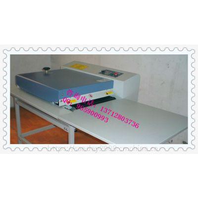 供应明丰定型压花机平面熔胶机600转印胶膜烫画机