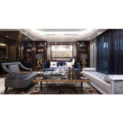 临沧装饰公司,云南艺之峰装饰工程有限公司,别墅现代奢华设计方案