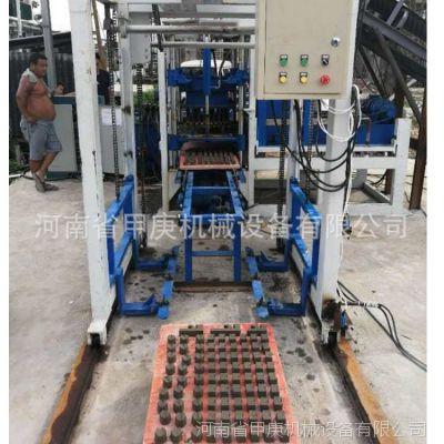 【建材加工设备】小型打砖机 高铁桥梁垫块机 桩基圆饼穿丝垫块机