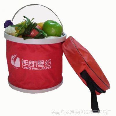 汽车折叠水桶 车用洗车水桶 车载伸缩洗车桶 汽车户外钓鱼水桶定