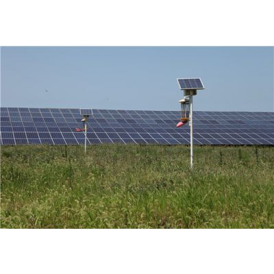 金尚新能源质量可靠(图)-庭院太阳能杀虫灯-威海太阳能杀虫灯