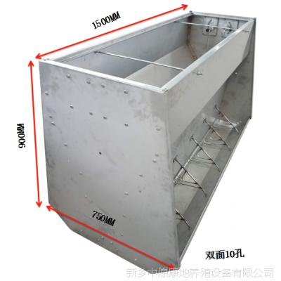 为什么越来越多的养猪达人喜欢用不锈钢料槽