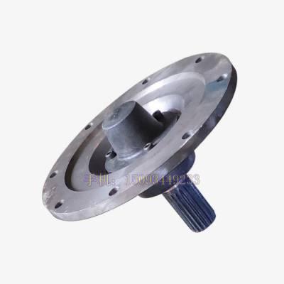 螺旋输送泵尾端尾盖尾盘端盖轴承座花键 219/273/323螺旋配件