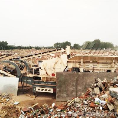 山东的破碎机厂家 建筑垃圾破碎机工作原理
