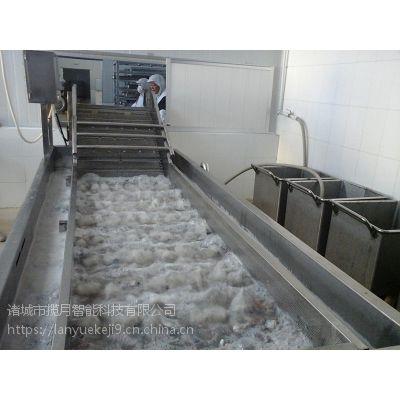 揽月供应MQT-6000小龙虾清洗机 龙虾气泡清洗设备 海产专用