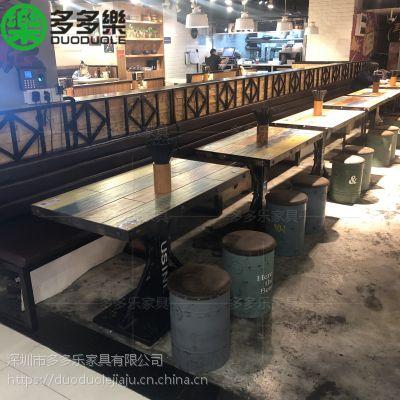 深圳多多家具那家好?多多乐餐饮餐桌卡座订制 中式火锅桌 烤肉桌免费设计