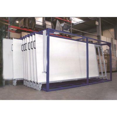天津板材货架 立式结构设计 金属材存放更好办法立式板材货架