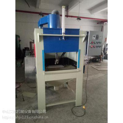 中山喷砂机 圆管喷砂机小批量产品前处理设备
