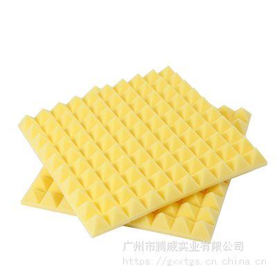 厂家制造吸音棉金字塔吸音海绵阻燃绵鸡蛋棉价格