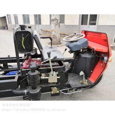 厂家柴油前卸式翻斗车 前卸式工程四轮车 云南地区多功能翻斗车