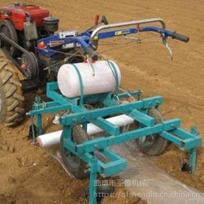 农用烤烟种植覆膜机 多功能喷药覆膜机 圣鲁机械