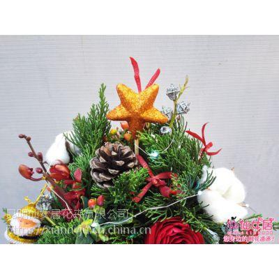 昆明平安夜礼物精致特别选择昆明仙女居花艺