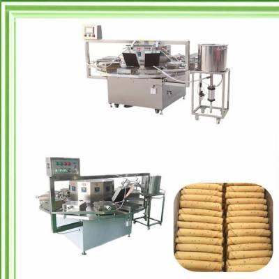电加热全自动蛋卷机生产企业厂家