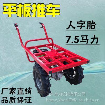 池州坡地运输工具 两轮汽油手推车 奔力SL-MG1