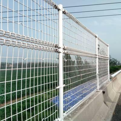 高速公路桥梁护栏网桥梁防抛网护栏防抛铁丝网