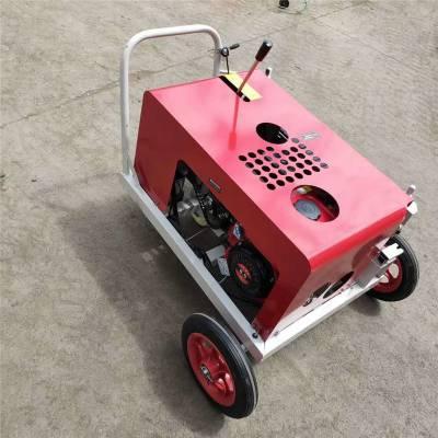 嘉鹏可代发汽油手拉光缆牵引机 可推拉电启动光缆输送机