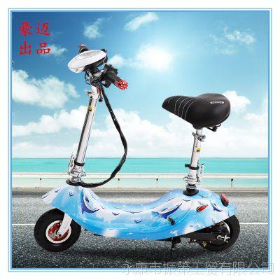 厂家直销 新款折叠小海豚电动自行车 女士迷你电动车 豪迈出品