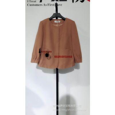 杭州品牌女装尾货厂家一手货源艾薇萱四季女装折扣批发