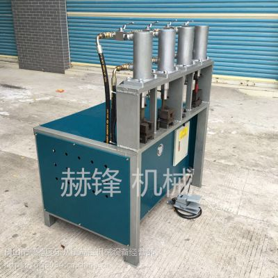 不锈钢方管冲圆孔机供应 液压冲孔设备用于管材料冲孔冲弧口 冲床