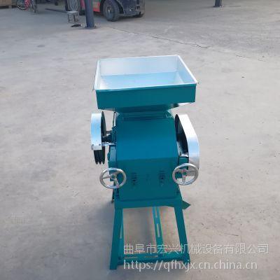 小型粮食挤扁机的型号 小麦大豆挤扁机 全新粮食挤扁机