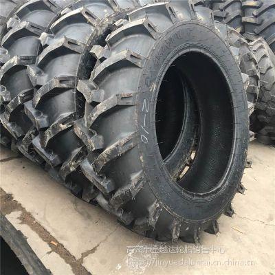农用轮胎拖拉机12.4-28人字花纹一级品轮胎厂家直销