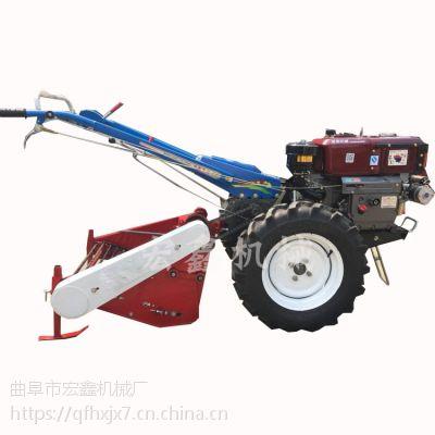 大马力手扶犁地机 12马力手扶旋耕机价格 农用手扶拖拉机厂家